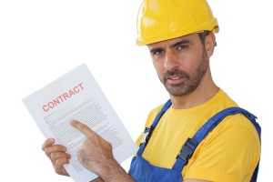 Holding A Contract
